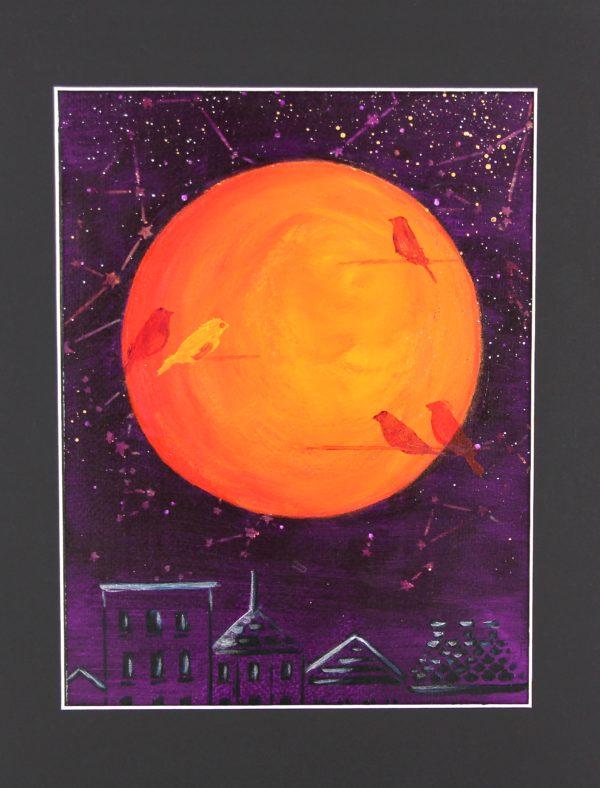 Orange Lune – Orange Moon