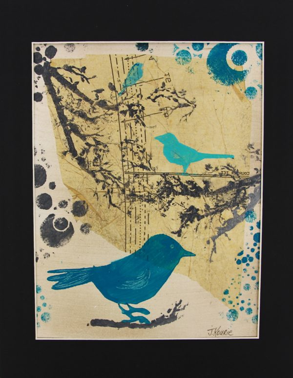 Les Oiseaux Bleus – Blue Birds