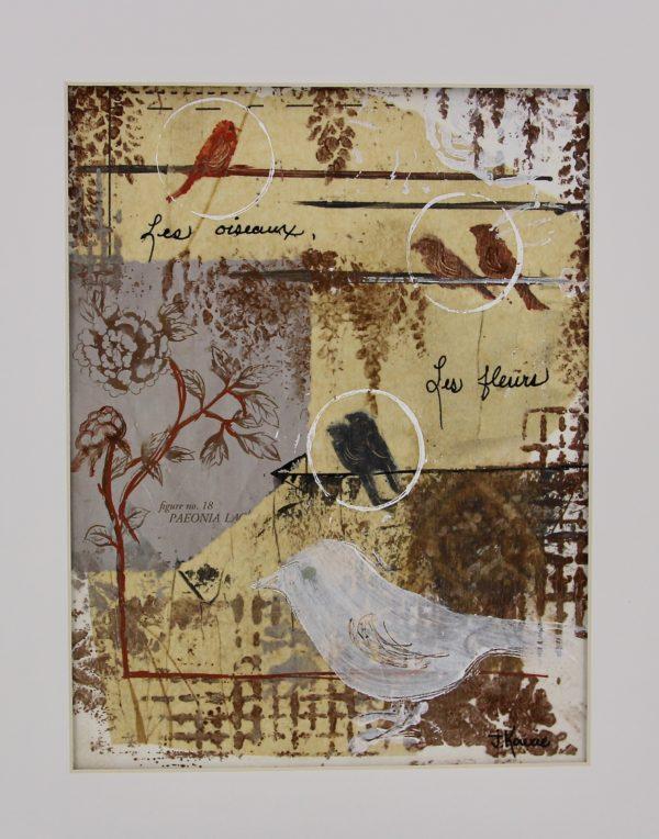 Les Oiseaux Et Les Fleurs – Birds And Flowers